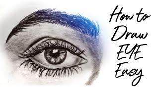 eyes easy draw
