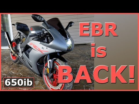 EBR Motorcycles | The AMERICAN Superbike Is BACK.... Again 😎