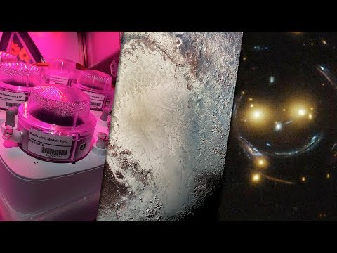 Space News  ISS Update and Pluto&39;s Secret Ocean