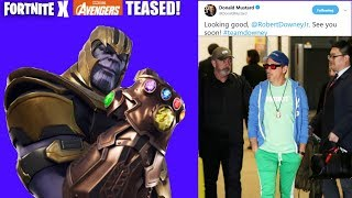 Fortnite X Avengers Endgame Promotion Teased! (Fortnite X Avengers Return?)