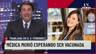 Feinmann, tras la muerte de una médica del Fernández: