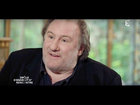 Interview «à domicile» de Gérard Depardieu - Drôle d'endroit pour une rencontre