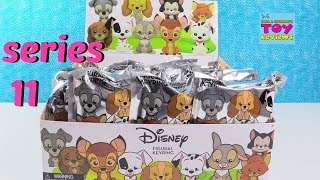 Disney Figural Keyrings Series 11 Animals Collection Blind Bag Toy Review | PSToyReviews