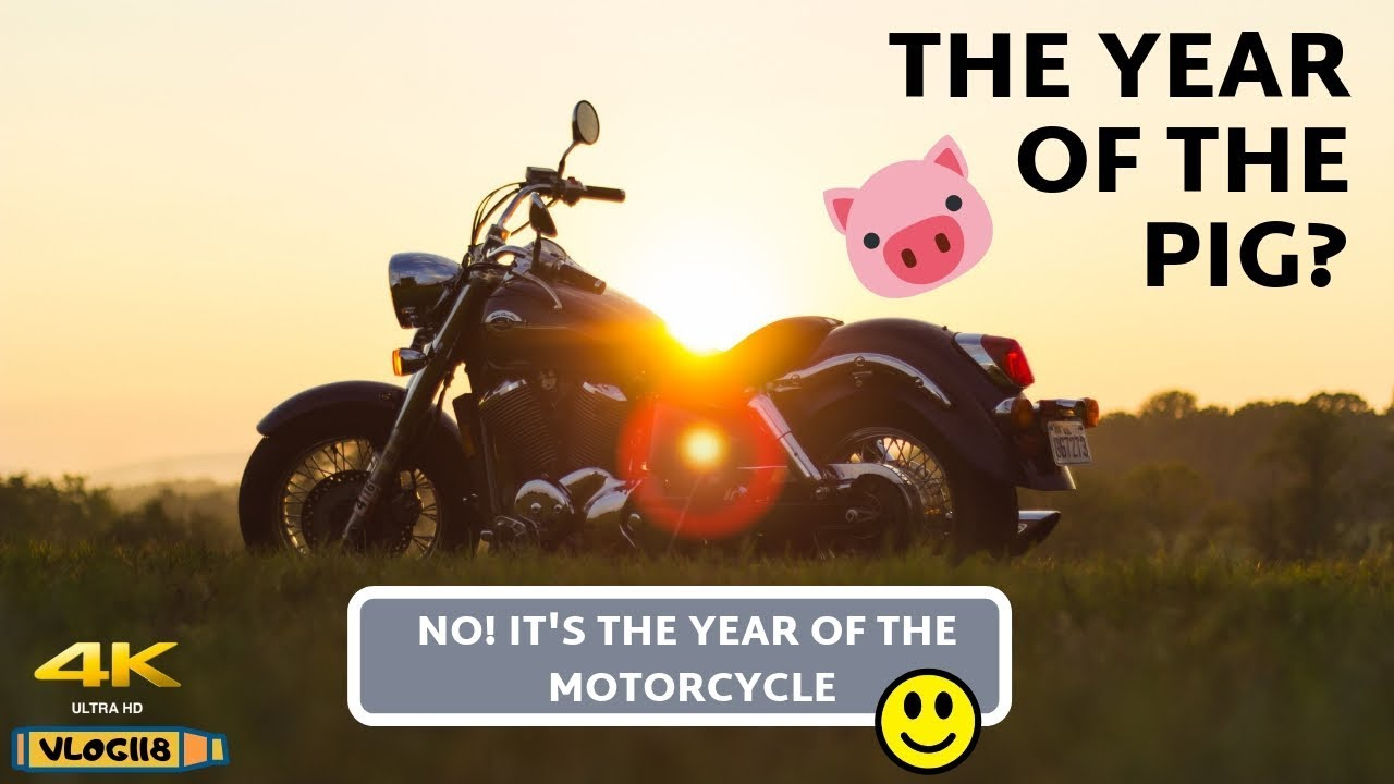 The Year Of The Motorcycle - VLOG118 [4K]