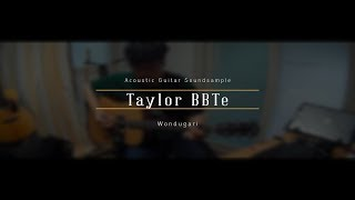 Taylor BBTe Soundsample