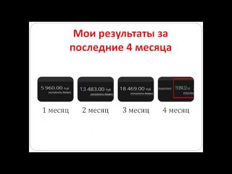Заработок на партнерских программах БЕЗ вложений! От 20 000 рублей в месяц