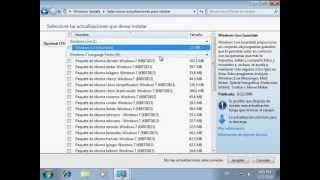 Instalar paquetes de idiomas en Windows 7