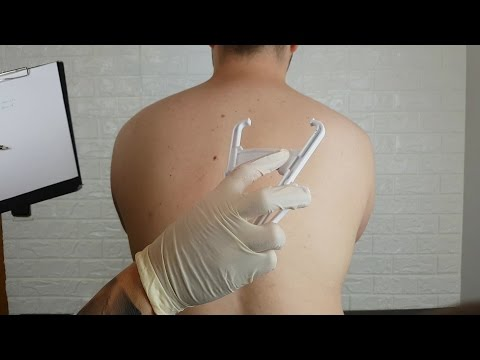 ASMR Real Person - Back Allergy Testing, Inspection & Check Up