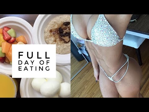 Full day of eating | Macros & calories included | Bikini prep series Vlog 10