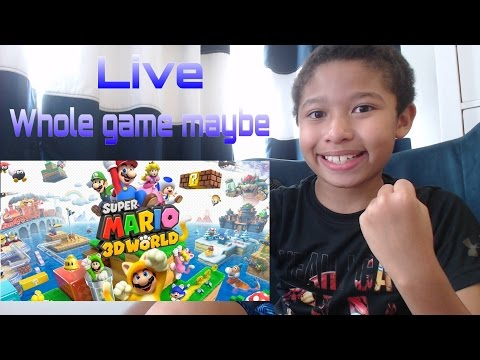 Super Mario 3D World Whole Game Maybe