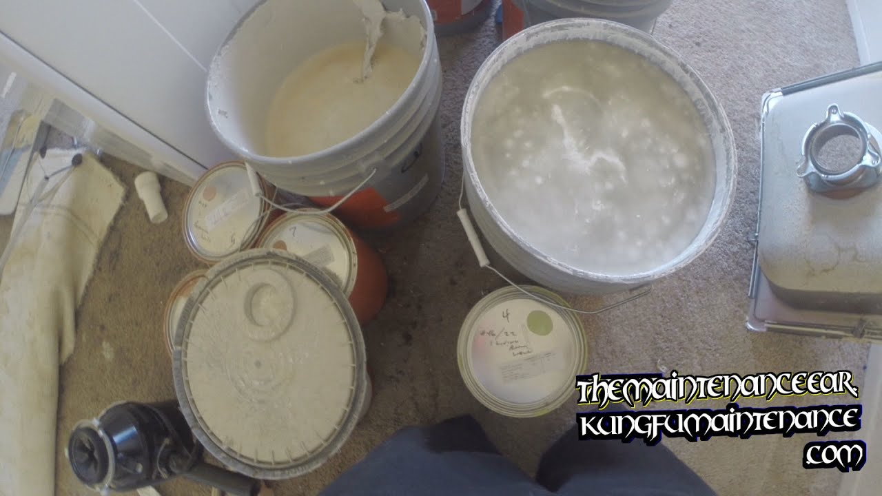 Remove Mildew Smell >> Mold Mildew Smell In Paint Problem With New Reduced VOC Paint Maintenance Video - YouTube