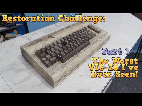 Restoration - The Worst VIC-20 I've ever seen - Part 1