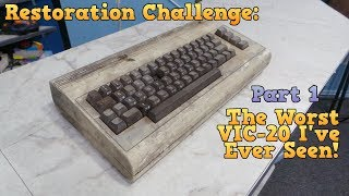 Restoration - The Worst VIC-20 I've ever seen - Part 1 thumbnail