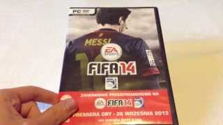 Unboxing Pre-Orderu gry  FIFA 14 PC
