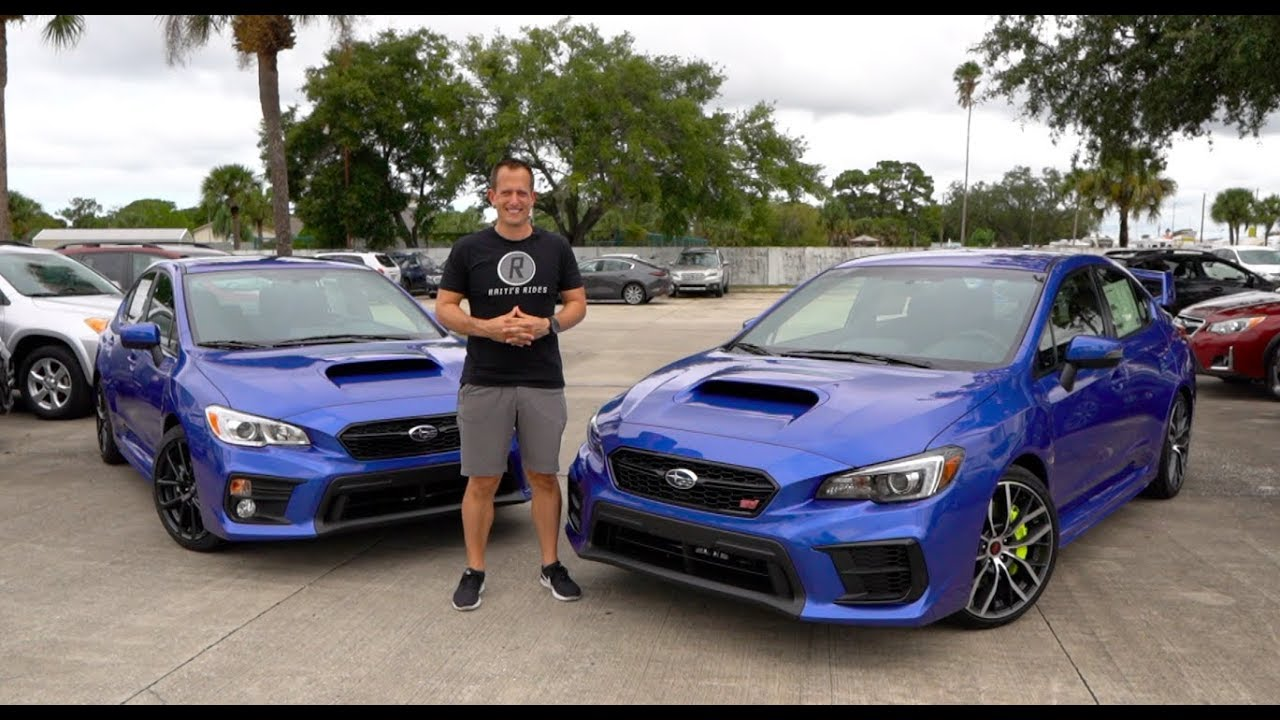 Is The 2020 Subaru Sti Worth 10k More Than The Wrx