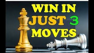 How to Achieve ✔ Checkmate in 3 Moves | Chess | Fastest Way | Get Smart