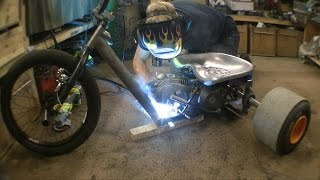 Making a Motorised Drift Trike(So simple to make are these, just the front of a BMX and a few off cuts of steel. Give it a go there lots of fun. DRIFTING VIDEO OUT NEXT THURSDAY links for all ..., 2015-12-03T16:00:00.000Z)