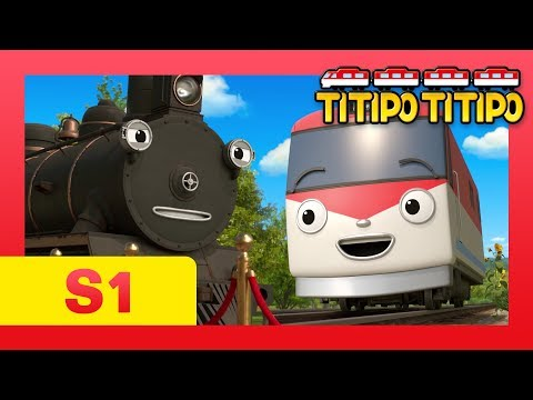 TITIPO S1 EP21 l The oldest train Steam meets Titipo! l TITIPO TITIPO
