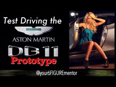 Test Driving the Aston Martin DB11Prototype