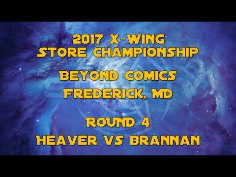 X-Wing Store Championship, Beyond Comics, Frederick, MD: Round 4