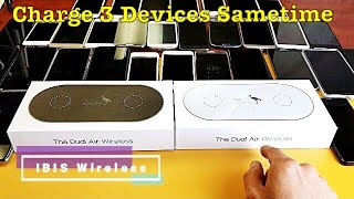 IBIS Wireless Dual Charging Qi Pad Review & How to (Charge 3 Devices Sametime)