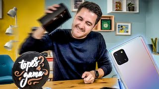 Galaxy NOTE 10 LITE, Unboxing y comparación!!!!!