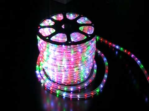 2 wires multi color led rope light wide loyal 2 youtube 2 wires multi color led rope light wide loyal 2 aloadofball Images