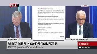 Murat Ağırel'den Mektup: Kalemini Satmamış Bizler Parayla Kantinden Kalem Alıyoruz
