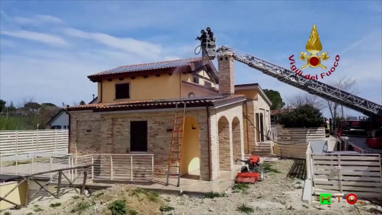 Vigili Del Fuoco Ancona Loc Barcaglione Incendio