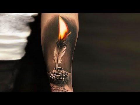 50 Топовых Татуировок в Черно-Сером Стиле