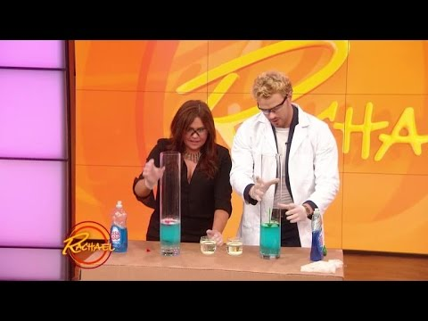 Watch 'Twilight' Star Kellan Lutz Perform a Science Experiment with Rachael Ray