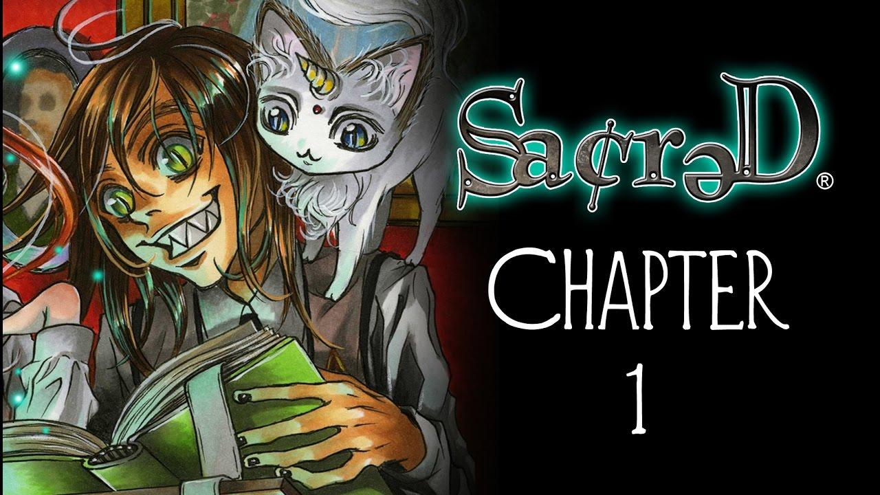 sacred chapter 1 by lizbeth r jimenez video comic    manga