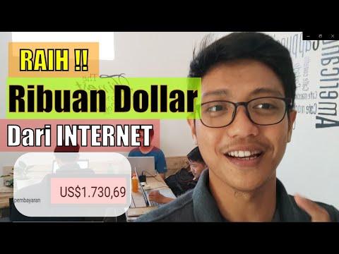 Cara Saya Mendapat Ribuan Dollar Dari Internet Hanya Dari Rumah