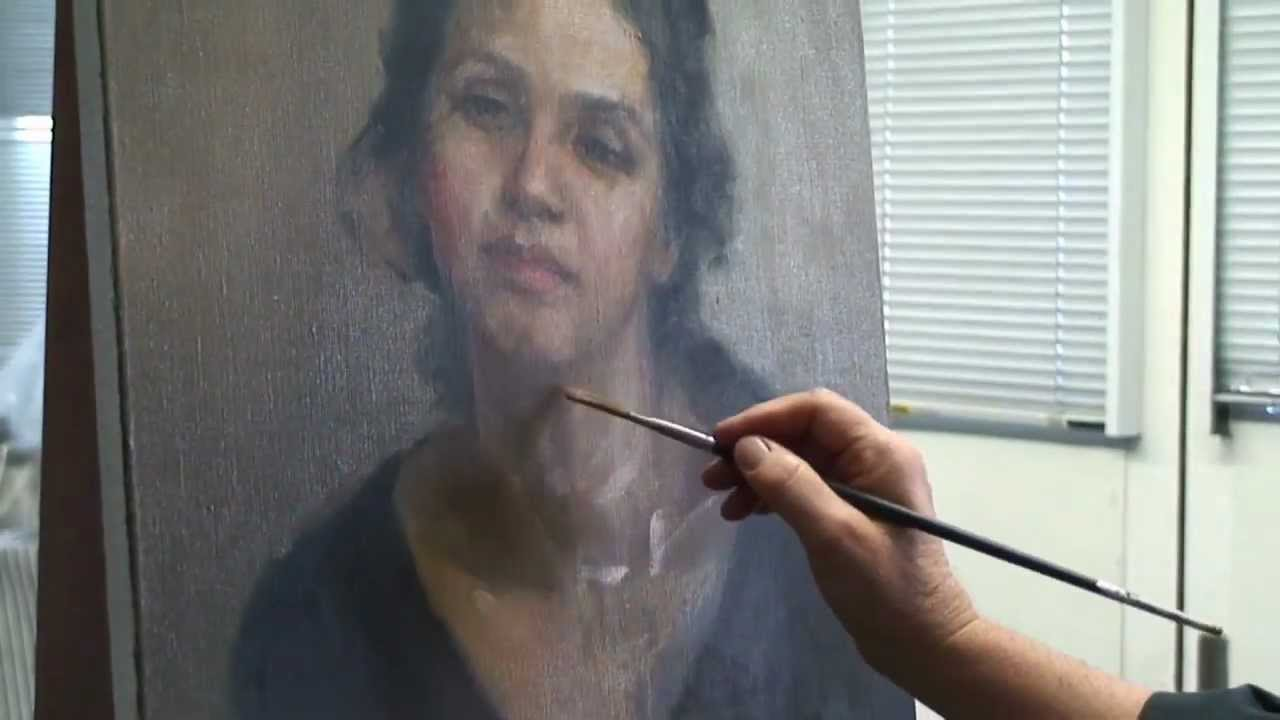 Portrait Painting Instructions - YouTube