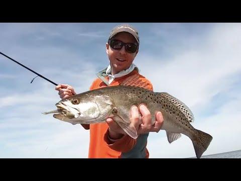 Flats Fishing For FAT Springtime Trout [Exploration Trip To Hudson, FL]