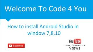 how to install android studio with java jre jdk 8 on microsoft window 7   8   10