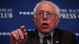 Ralph Nader on Bernie Sanders Running for President...