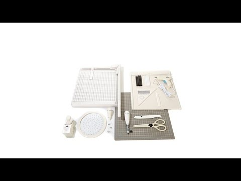 martha stewart crafts papercrafting tool collection youtube