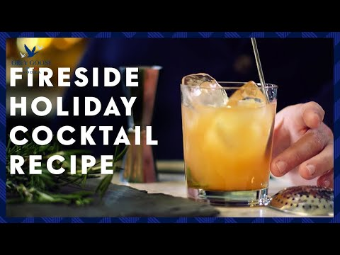 Festive Holiday Drink: Fireside Cocktail Recipe | Grey Goose Vodka