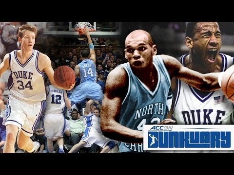 Duke vs. North Carolina: Best Dunks All-Time | #Dunkuary