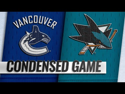 02/16/19 Condensed Game: Canucks @ Sharks