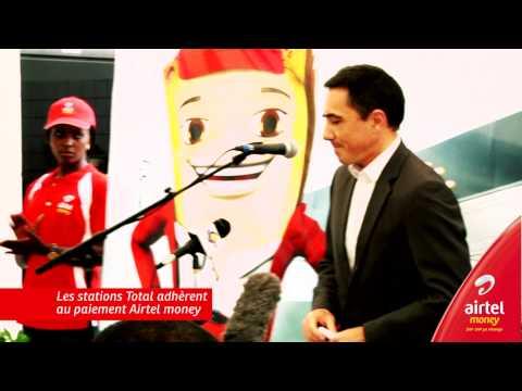 Airtel Money avec Total Congo Distribution