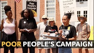 The New Poor People's Campaign Continues the Work of the Civil Rights Movement