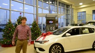 Check out Eddy wishing you a Merry Christmas from Collingwood Toyota Scion!
