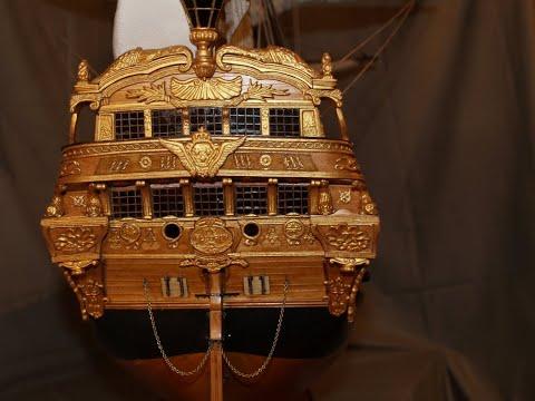 44. Модель корабля -ROYAL WILLIAM-1719 ./1:48/. ВЕРХНЯЯ ПАЛУБА.
