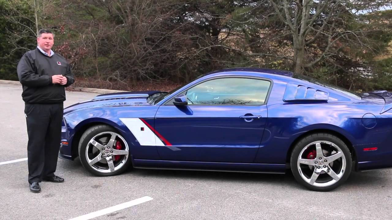 Ford Of Murfreesboro >> 2014 Roush Stage 3 Aluminator Mustang 700+ HP Like New SOLD!! - YouTube