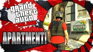 GTA V Online - $99,000 Apartment Tour 1561 San Vitas St., Apt 2 - 2-car garage