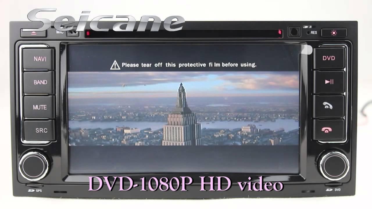 2005 2006 2007 2008 vw touareg navigation tv cd player. Black Bedroom Furniture Sets. Home Design Ideas