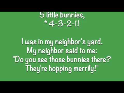 Ten Little Bunnies