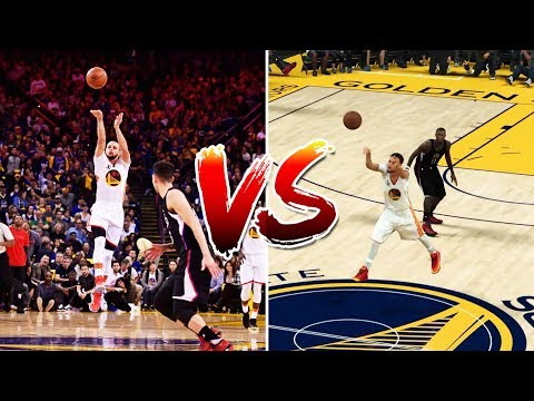 NBA's Best Plays of the 2017 Regular Season RECREATED IN NBA2K17